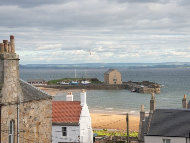 The Granary, Harbour and Pier at Elie