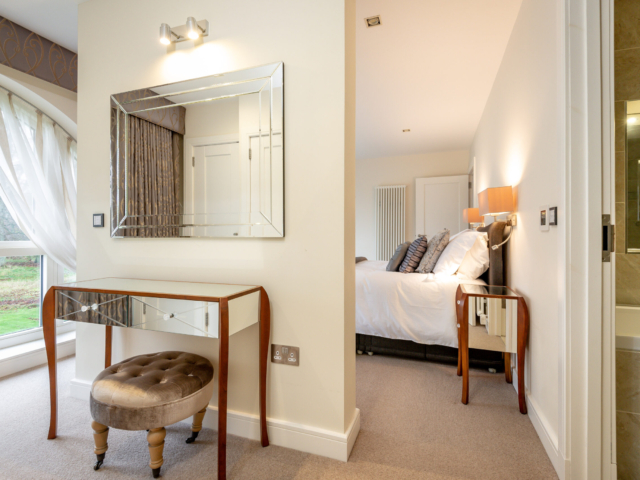 Master bedroom with dressing table